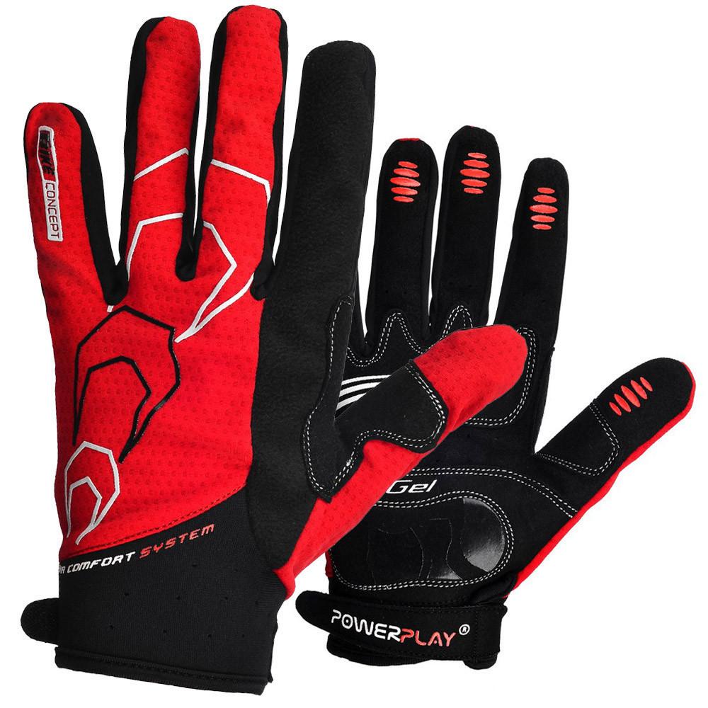 Велоперчатки PowerPlay 6556 С Красные XXL