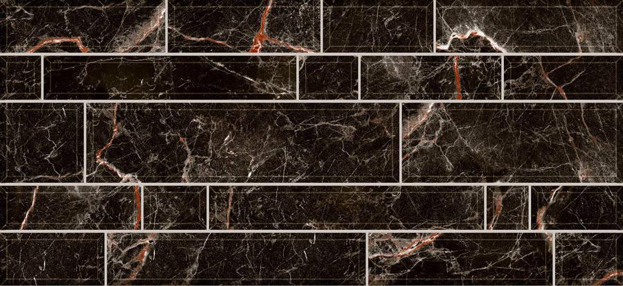 Плитка PLAZA Стена черная/2350 95 082 , фото 2