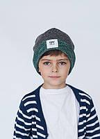 Детская шапка ГАРЕТ для мальчиков  оптом размеры 50-52-54