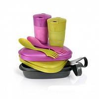 Посуда на двоих для пикника Light My Fire Pirategold/Pinkmetal  50686440