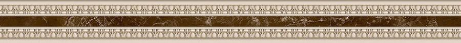 EMPERADOR Фриз узкий коричневый Барельеф/БУ 66 031, фото 2