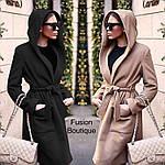 Пальто на подкладке с капюшономот Стильномодно, фото 3