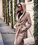 Пальто на подкладке с капюшономот Стильномодно, фото 2