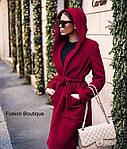 Пальто на подкладке с капюшономот Стильномодно, фото 6