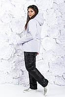 """Лыжный женский теплый зимний костюм """"Love Queen"""", мех овчина, размеры: 42-44, 46-48, 50-52, 54-56."""