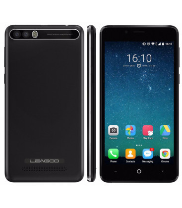"Смартфон Leagoo P1 Pro 2/16Gb Black, 8+2/5Мп, 5"" IPS, 2SIM, 4G, 4000мАh, 4 ядра"