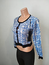 Кофта женская модная на пуговицах укороченная  EVELINE, Турция, фото 2