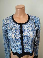 Кофта женская модная на пуговицах укороченная  EVELINE, Турция, фото 3