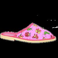 Детские тапки для дома 18 см-20 см, фото 1