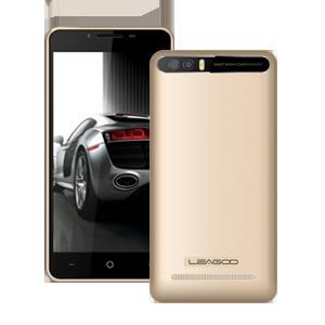 "Смартфон Leagoo P1 Pro 2/16Gb Gold, 8+2/5Мп, 5"" IPS, 2SIM, 4G, 4000мАh, 4 ядра"
