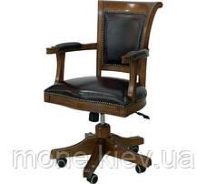 """Деревянное кресло для кабинета  """"Оксфорд"""", фото 2"""