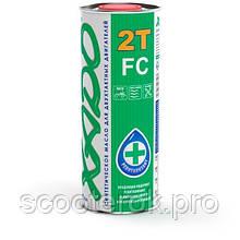Масло ХАДО 2т FC полусинтетическое (зелёное).