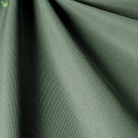 Уличная ткань темно-зеленого цвета для штор на террасу, в беседку 83408v35
