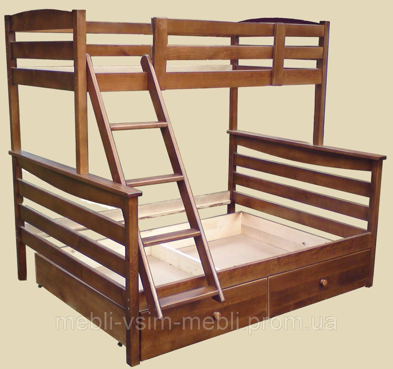Детская кровать трансформер АРИНА бук, фото 1