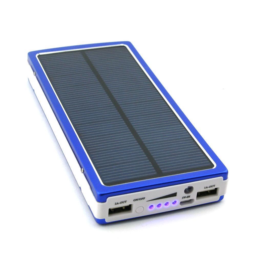 Power bank Solar 30000 с солнечной батареей.Портативное зарядное устройство Павербанк