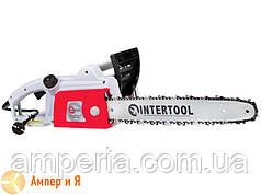 Пила цепная 2000 Вт, 800 об/мин, шина 405 мм, 230 В INTERTOOL DT-2201