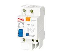 Дифференциальный автоматический выключатель YCB6HLE, 1P+N, 25А, 30mA, CNC