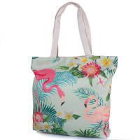 51bf7f377245 Пляжная сумка Famo Женская пляжная тканевая сумка FAMO (ФАМО) DC1802