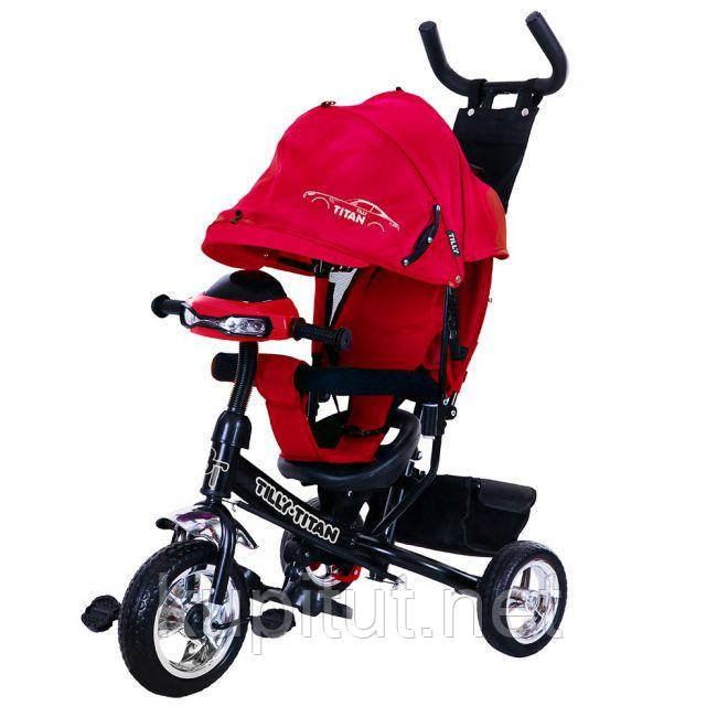 Велосипед трехколесный TILLY TITAN T-348 Красный