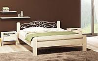 Кровать деревянная Амелия (сосна, бук, дуб)