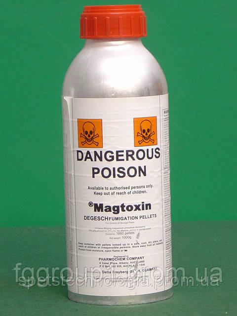 Магтоксин , фумигант (фосфид магния)