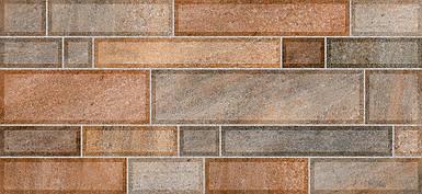 Плитка METRO Стена коричневая темная / 2350 59 032