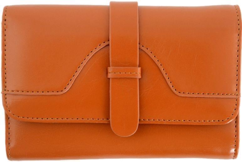 Жіночий гаманець TRAUM 7201-41, натуральна шкіра, коричневий