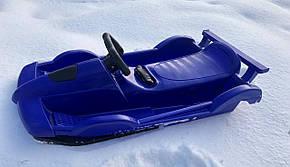 Санки Alpen Race синие, фото 3