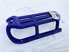 Санки Alpen Rodel синие, фото 3