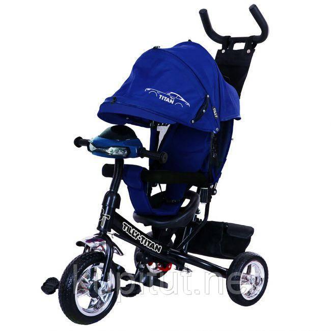 Велосипед трехколесный TILLY TITAN T-348 Синий