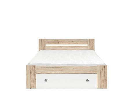 Ліжко STEFAN/160 (BRW), фото 2