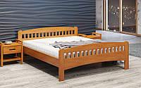 Кровать деревянная Розалия (сосна, бук, дуб)
