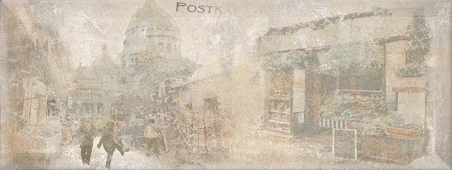 ANTICA декор серый / Д 128 072-2