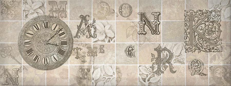 ANTICA декор серый / Д 128 072-3
