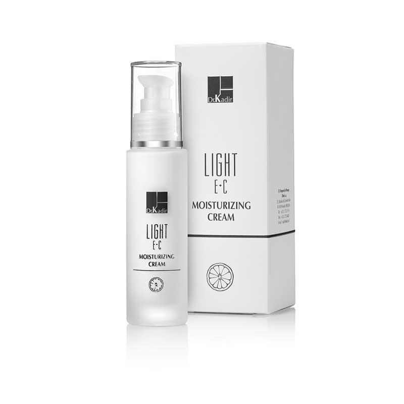 Легкий увлажняющий крем для лица Light E+C, 50 мл