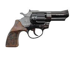 """Револьвер флобера PROFI-3"""" Pocket (чёрный / пластик под дерево)"""