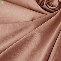 Однотонная декоративная ткань цвета темная пудра тефлон DRK-82757