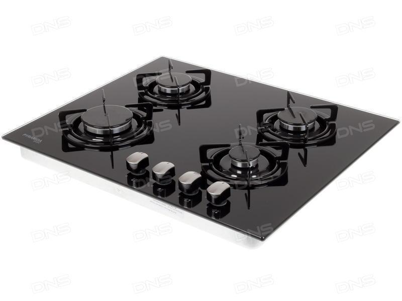 Варочная поверхность газовая Pyramida PFG 646 black
