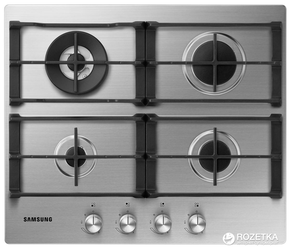 Варочная поверхность газовая Samsung NA64H3030AS/WT