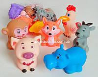 Набор для купания (6 шт.),резиновые игрушки для ванны