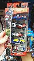 Hot Wheels Набор машинок Avengers Vs Ultron 5-Pack Машинки металлические 5 штук