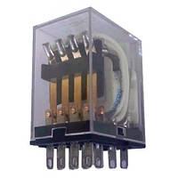 Реле промежуточное с индикатором MY 2P, AC 220V, N, 5А, CNC