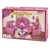 """Мебель """"Gloria """" 22004 для гостинной, диван, кресла, …в кор. 38*21*7см"""