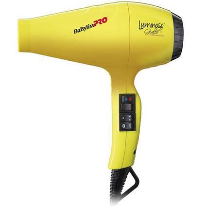Фен для волос BaByliss PRO BAB6350IYE Luminoso Giallo