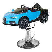 Детское парикмахерское кресло-автомобиль Hairmaster 8911055 Blue