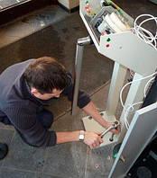 Подготовка турникета трипода для использования при отрицательных температурах