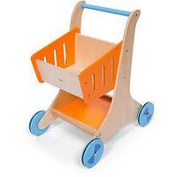 """Ходунки каталка """"Тележка для продуктов"""" Viga Toys 50672, фото 1"""