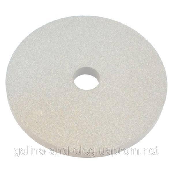 Круг керамика ЗАК - 300 х 40 х 76 мм (25А F80) белый