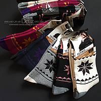 Теплі жіночі термо-шкарпетки Ruifa 695-1. Розмір 35-38