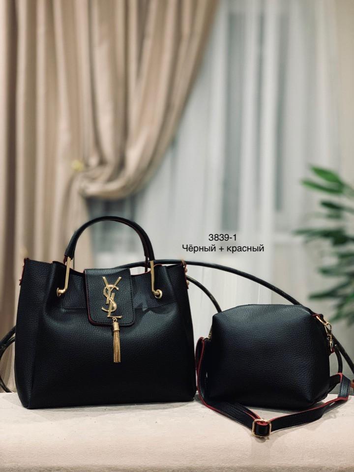 ab8e579e97bc Комплект. Клатч и сумка Y*S*L - Качественные реплики на сумки известных